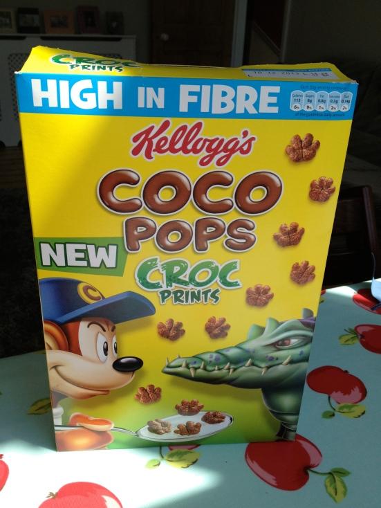 Croc prints cereal
